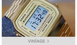 montres casio vintage